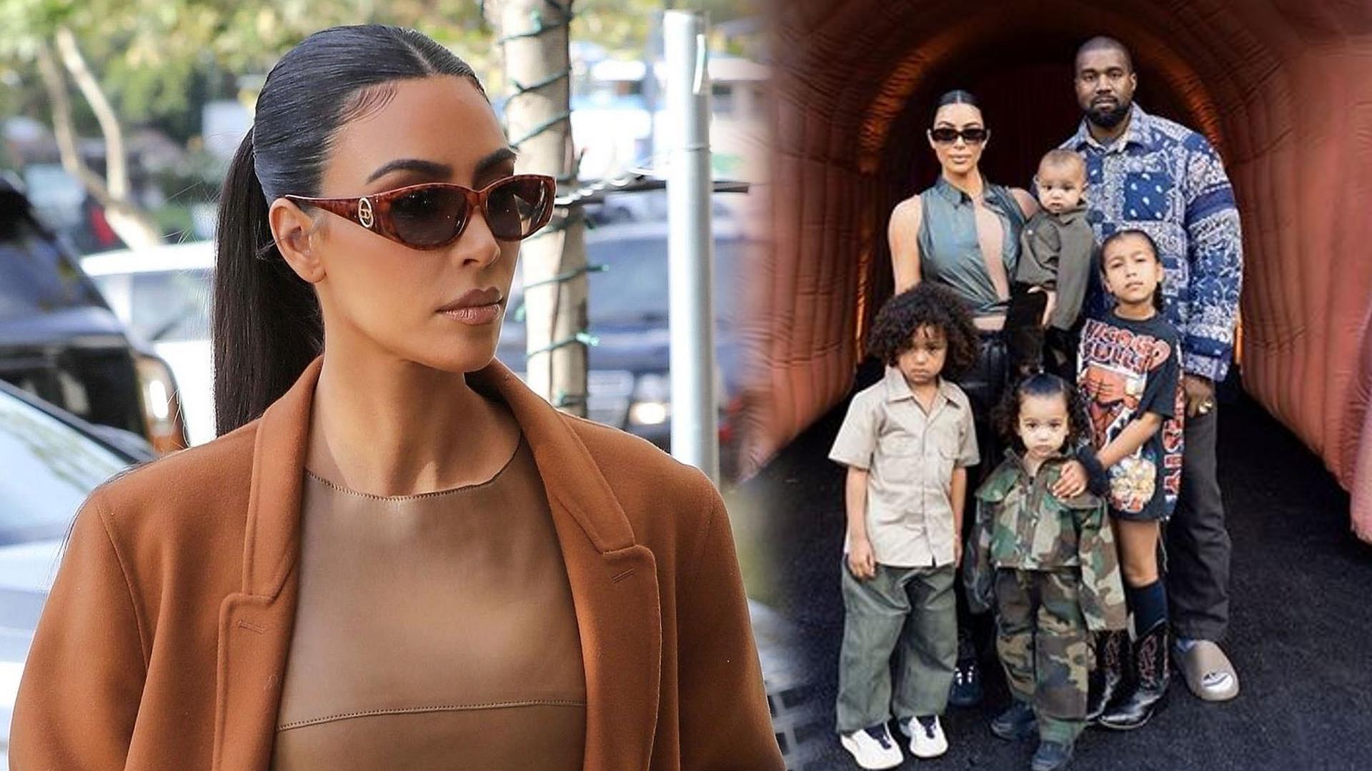 Tak dzieci Kim Kardashian walczą z koronawirusem – zbudowały SCHRON
