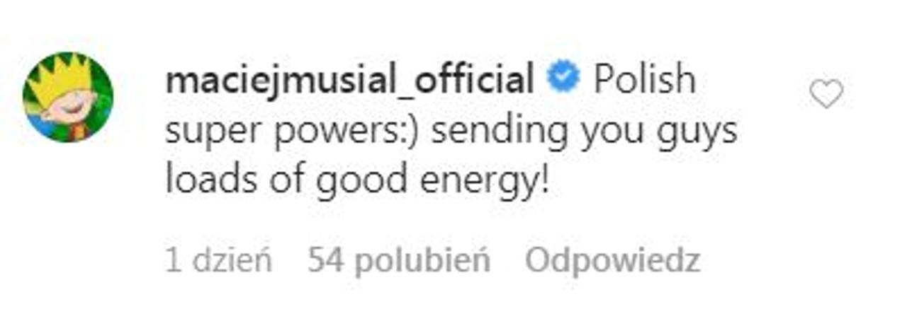 """Maciej Musiał napisał komentarz pod postem showrunnerki """"Wiedźmina"""""""