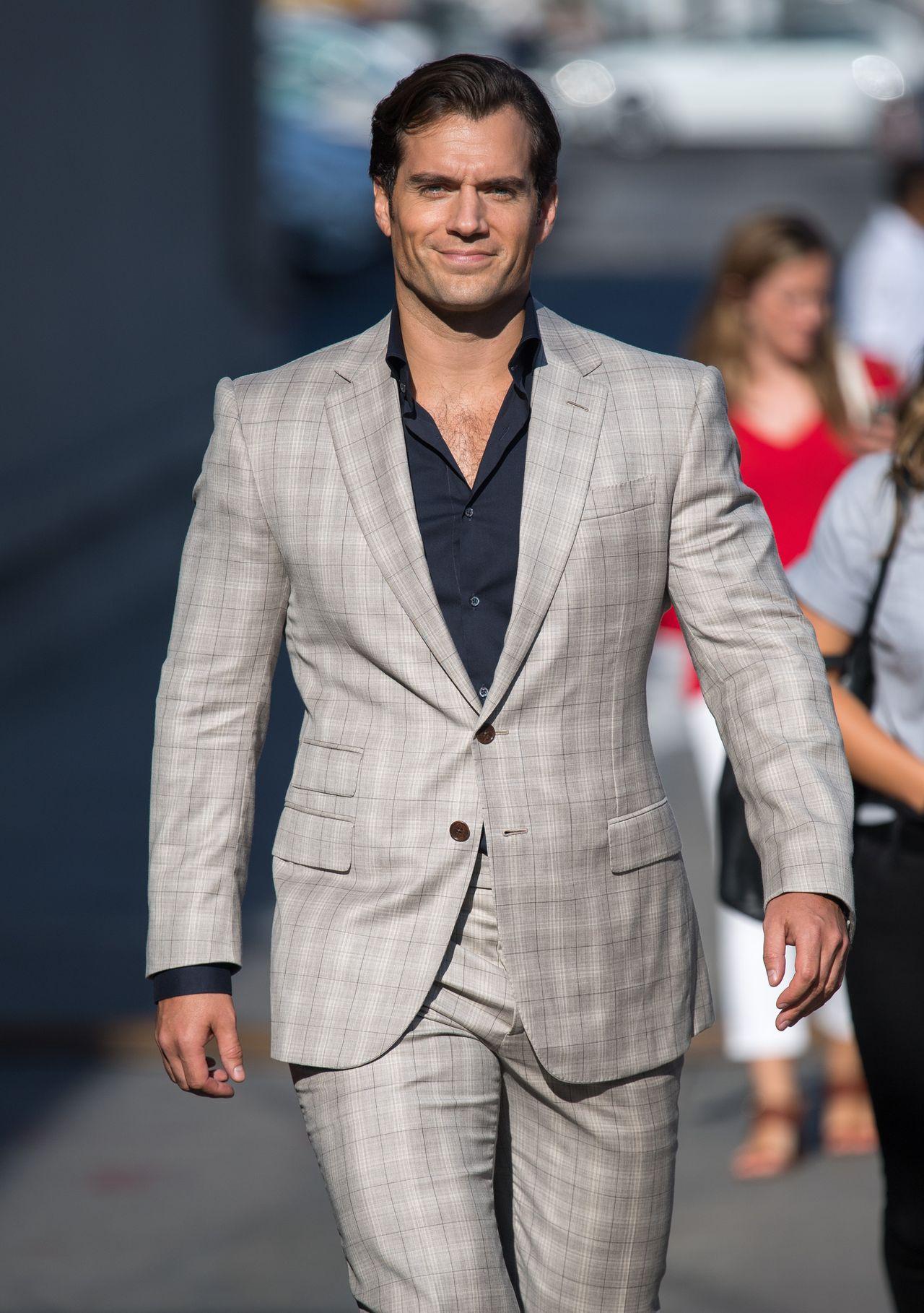 Henry Cavill wychodzi z nagrań programu Kimmela