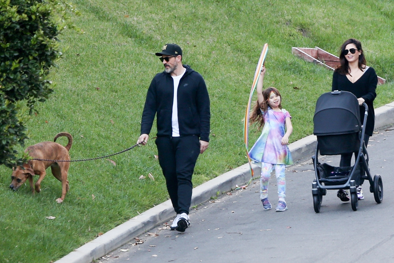 Jenna Dewan z rodziną