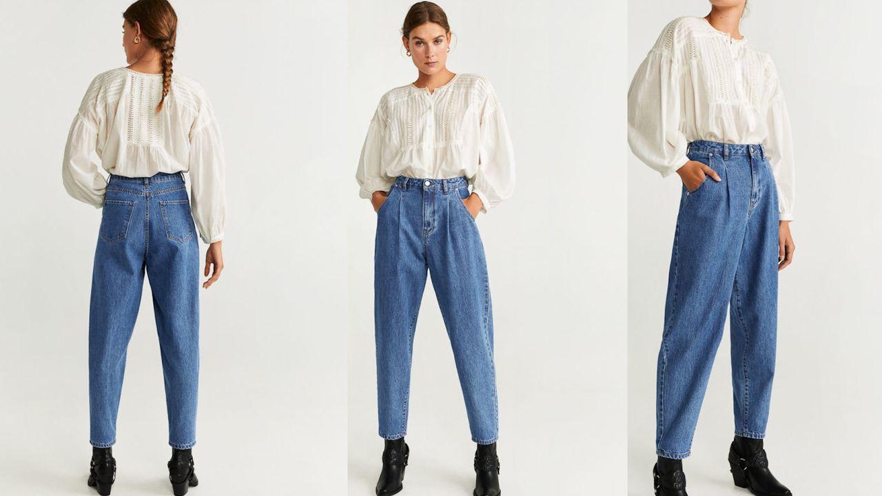 Spodnie w stylu Magdy Pieczonki/fot. answear.com