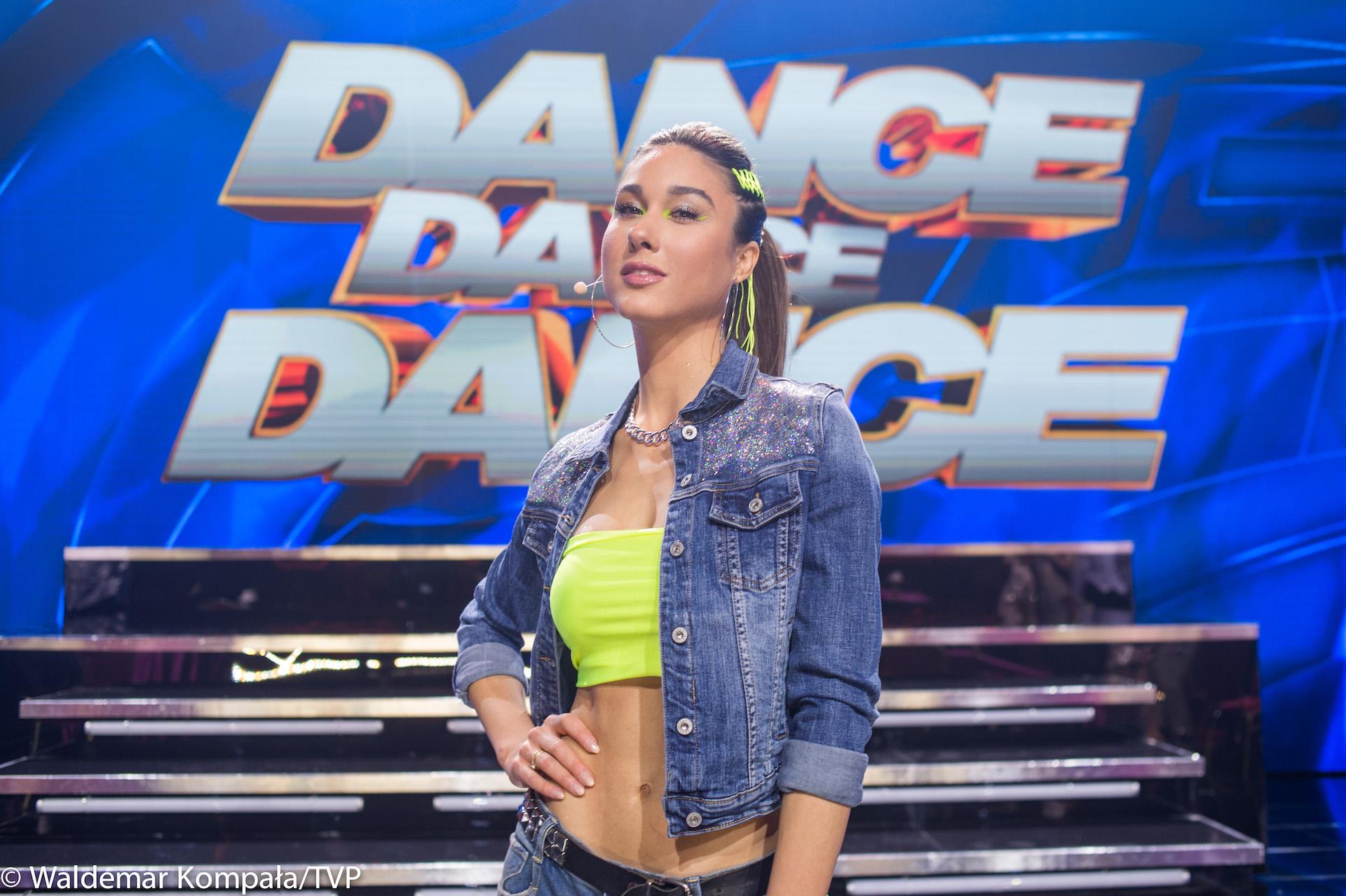 "Robert Kupisz na scenie ""Dance Dance Dance"""