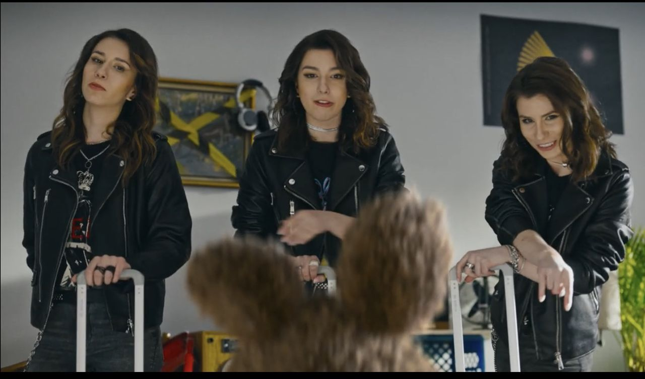 Siostry Szczepańskie w reklamie