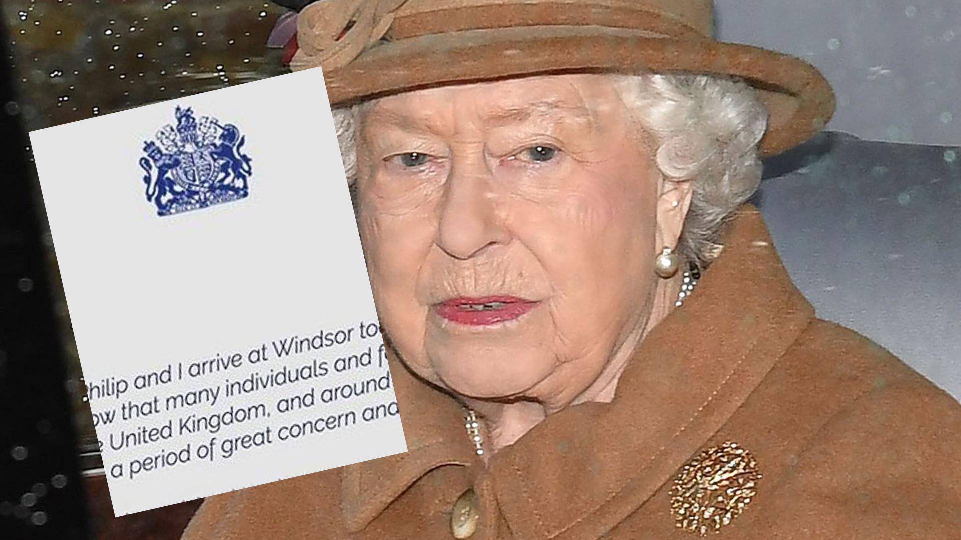 Królowa Elżbieta wydała BARDZO WAŻNE oświadczenie