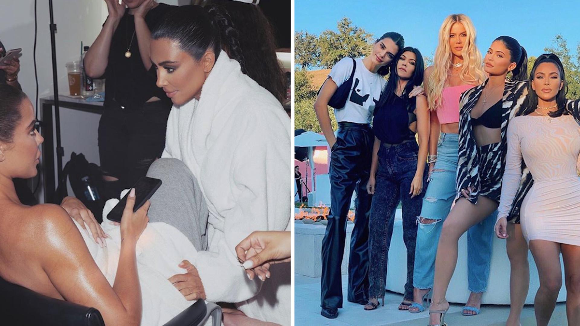 Siostry Kardashian ciężko przechodzą kwarantannę. TĘSKNIĄ za starym życiem