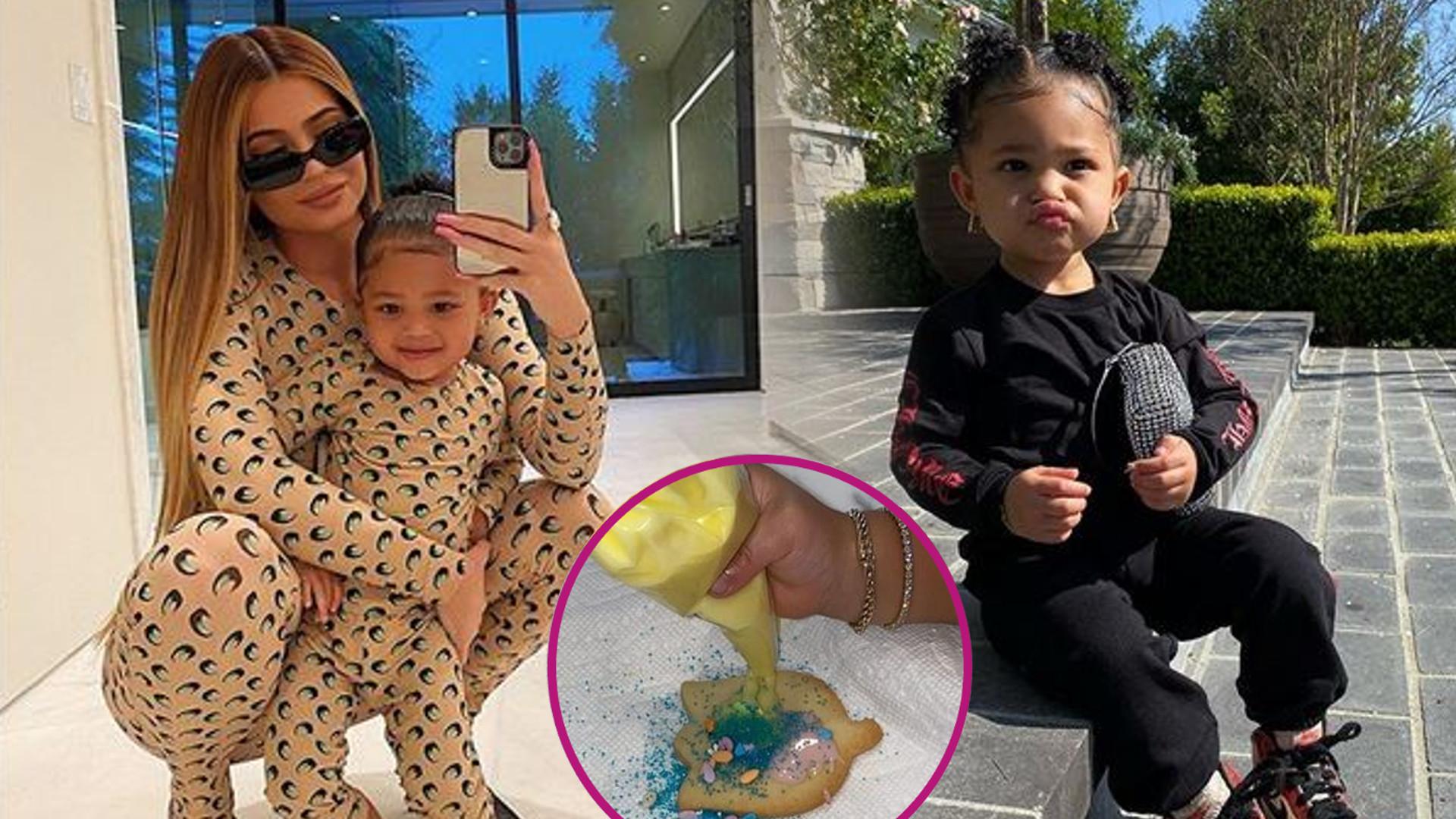 Kylie Jenner z córką Stormi już szykują się na Wielkanoc. Zobaczcie, co zrobiły