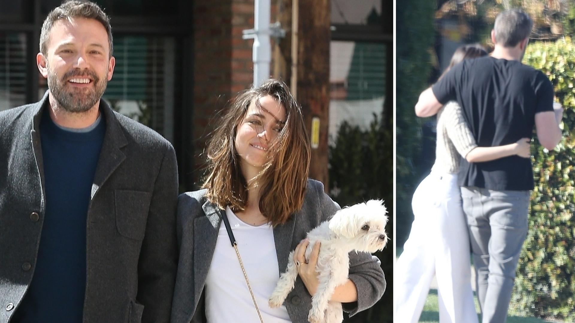 Ana de Armas i Ben Affleck na spacerze podczas kwarantanny – zobaczcie tylko ich DOM! (ZDJĘCIA)