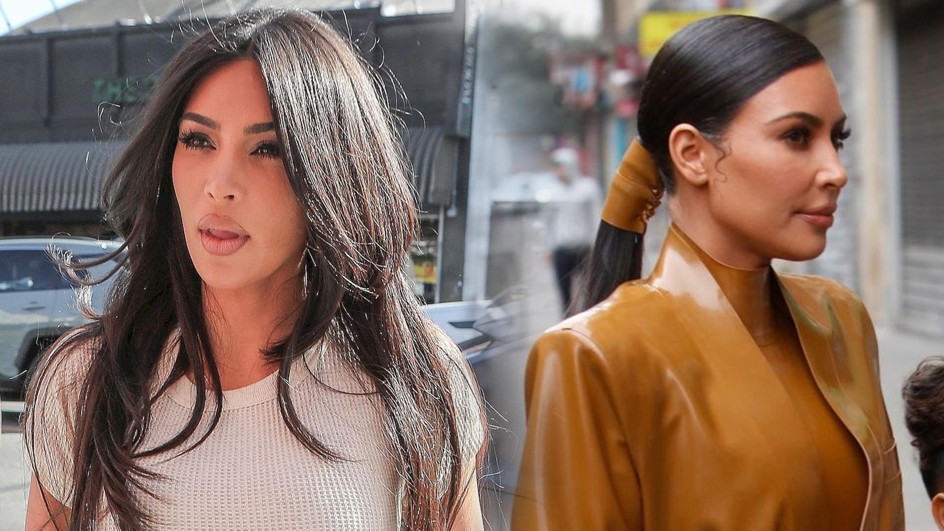 To się nazywa poświęcenie dla MODY – Kim Kardashian w tym stroju nie mogła nawet skorzystać z TOALETY