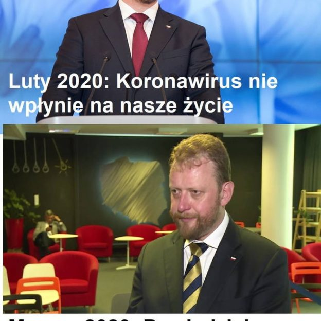 Łukasz Szumowski został bohaterem memów