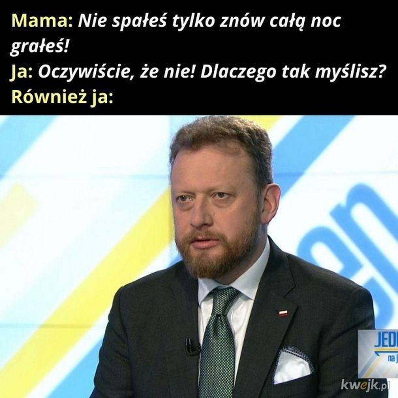 Łukasz Szumowski walczy z koronawirusem