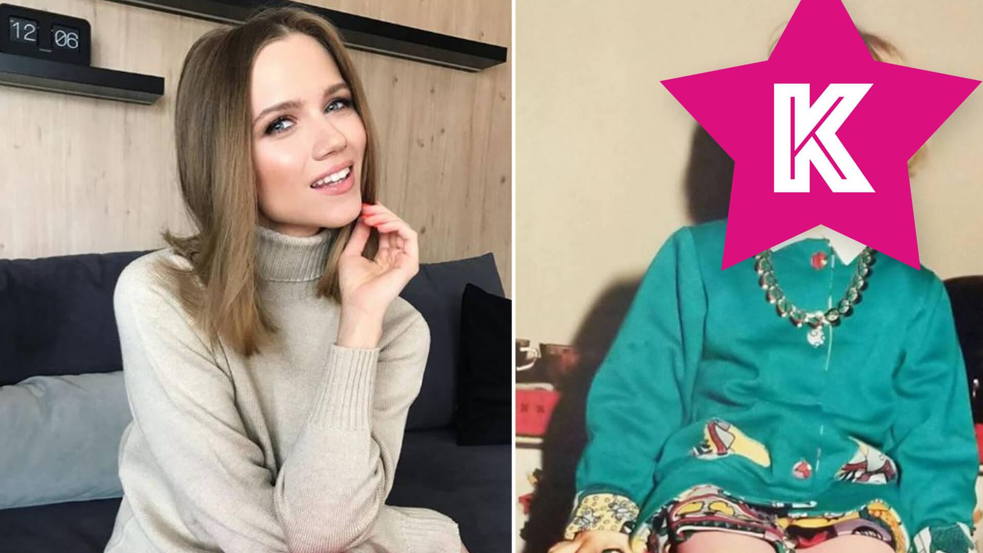 Agnieszka Kaczorowska pokazała, jak wyglądała, gdy miała zaledwie kila lat. Pamiętacie te stylówki?
