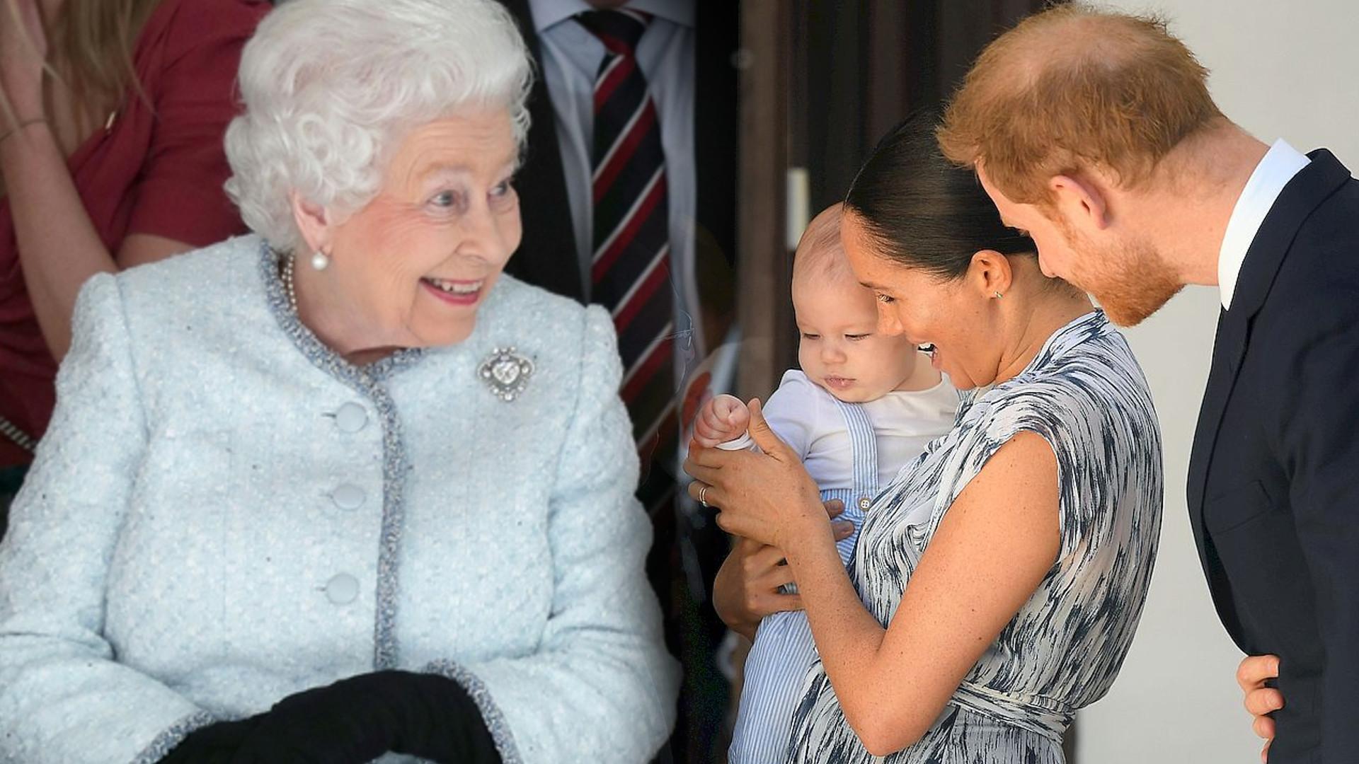 Królowa Elżbieta już kupiła PREZENT dla Archiego na jego 1. urodziny