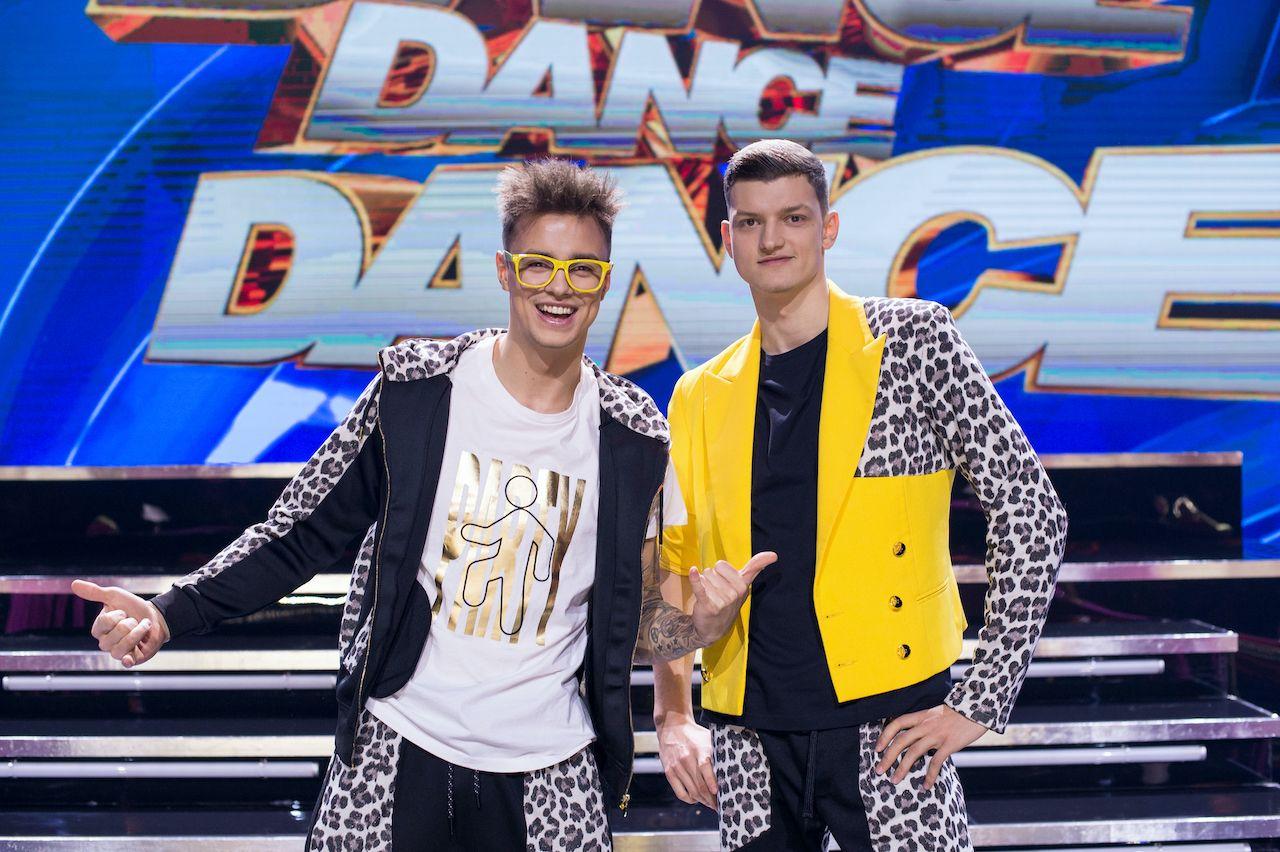 "Krzysztof i Rafał Jonkisz w ""Dance Dance Dance"""