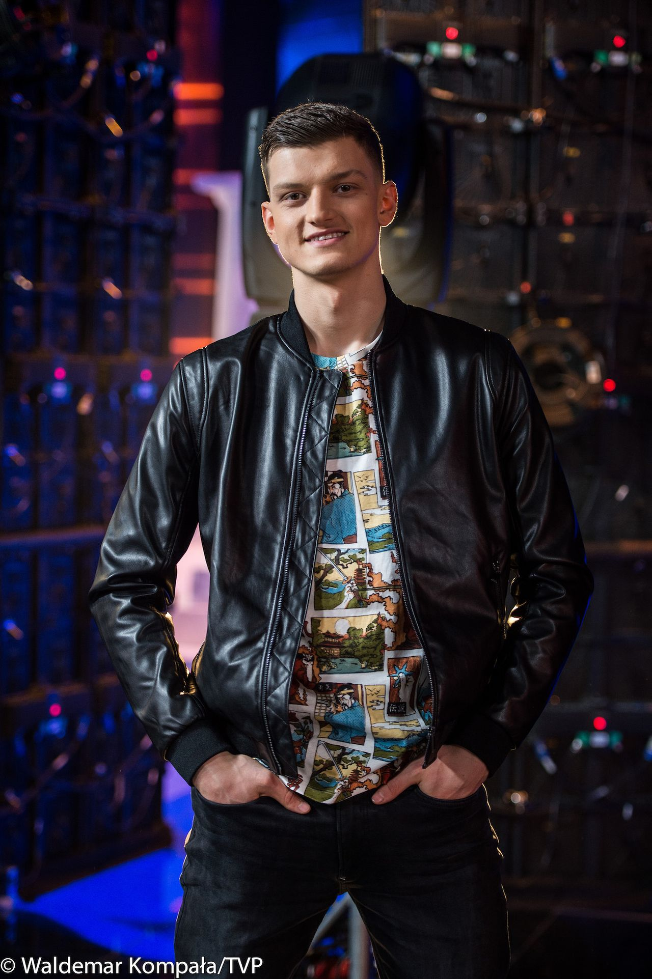 "Krzysztof Jonkisz w ""Dance Dance Dance"""