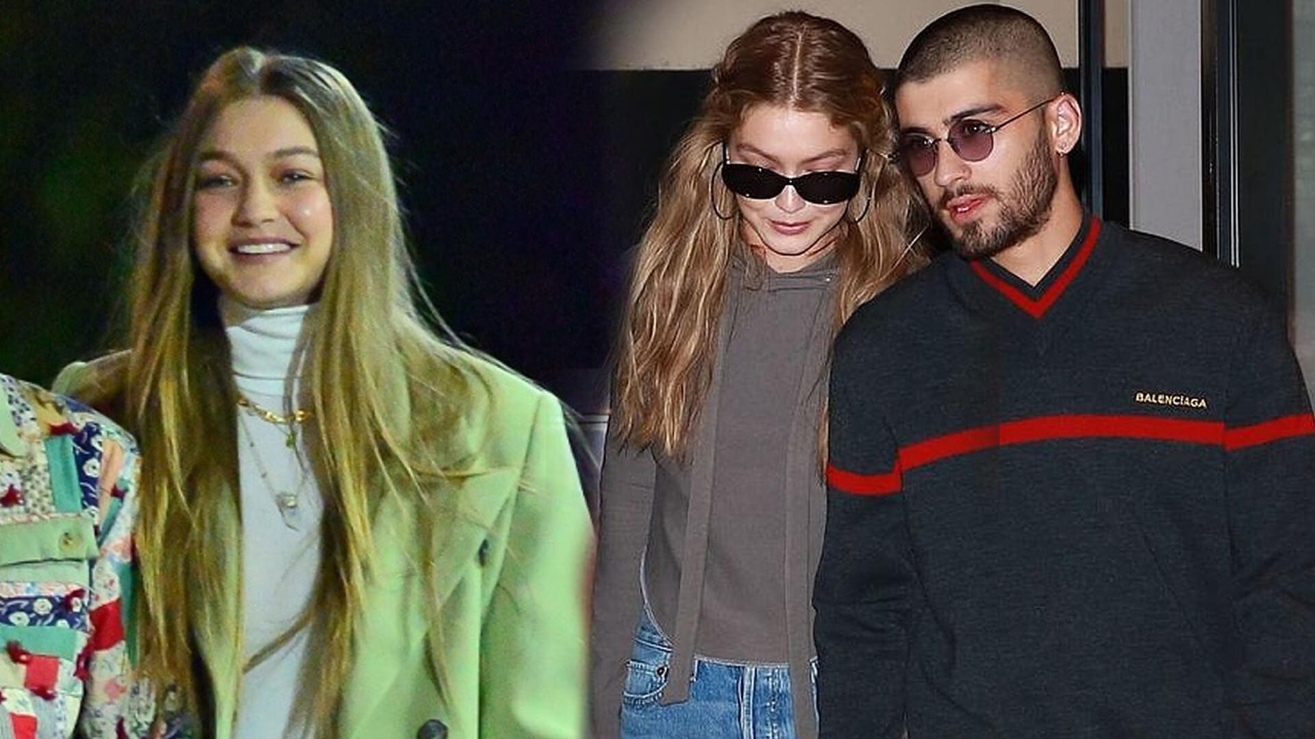 Gigi Hadid PRZYŁAPANA. Modelka potwierdziła, że ona i Zayn wrócili do siebie jeszcze przed świętami