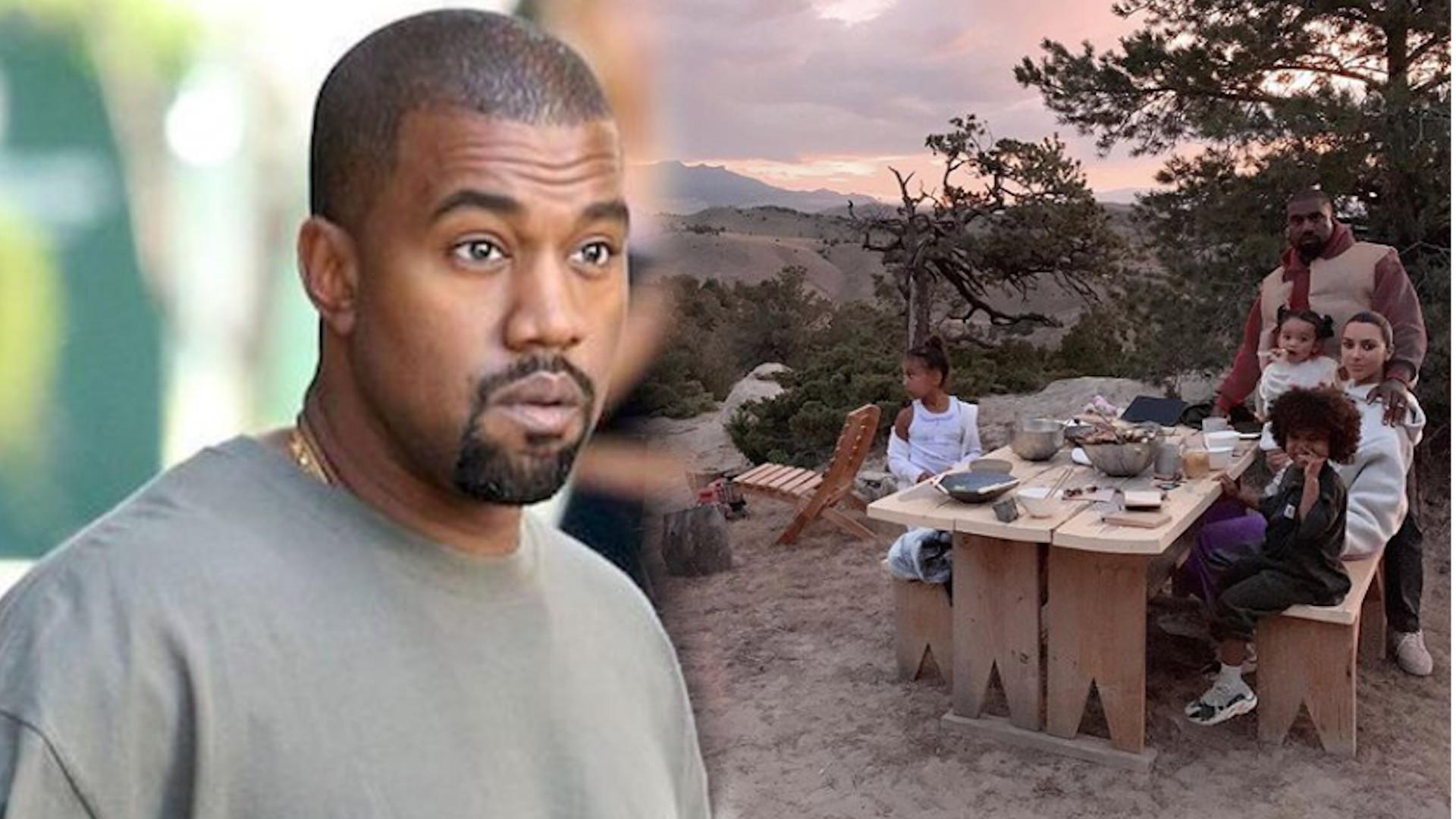 """Kanye West chce wybudować """"ogród moczu"""" na swoim RANCZO"""