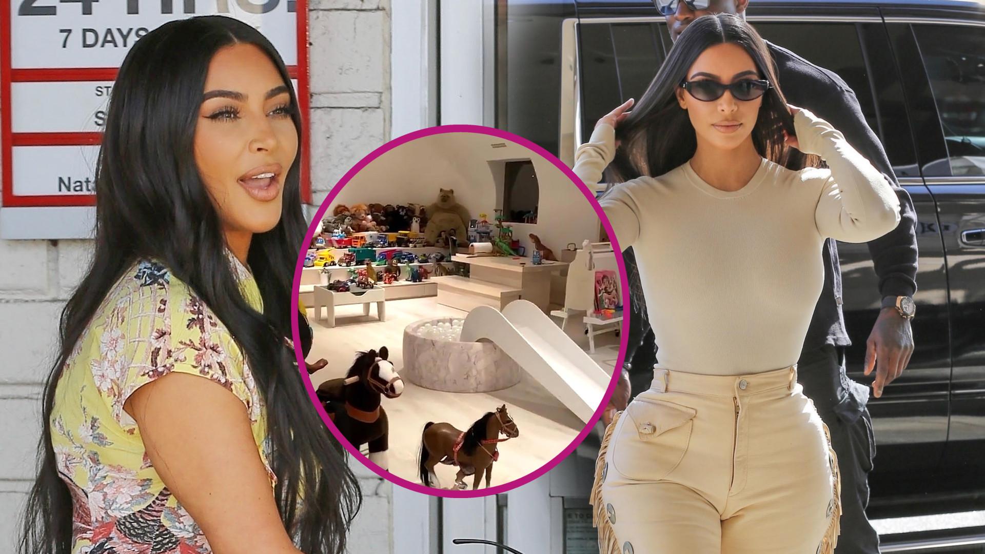 Kim Kardashian pokazuje pokój dla dzieci podczas kwarantanny