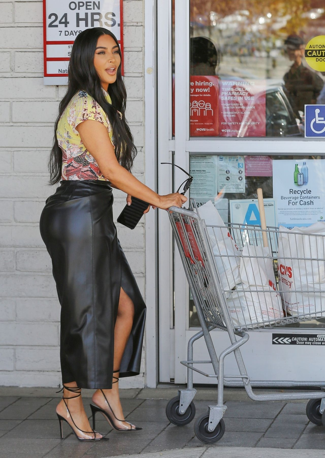 Kim Kardashian . Fot. BACKGRID / Backgrid USA / Forum