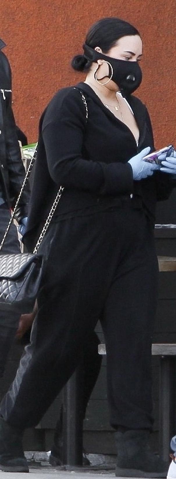 Demi Lovato z chłopakiem. Fot. Forum/Backgrid