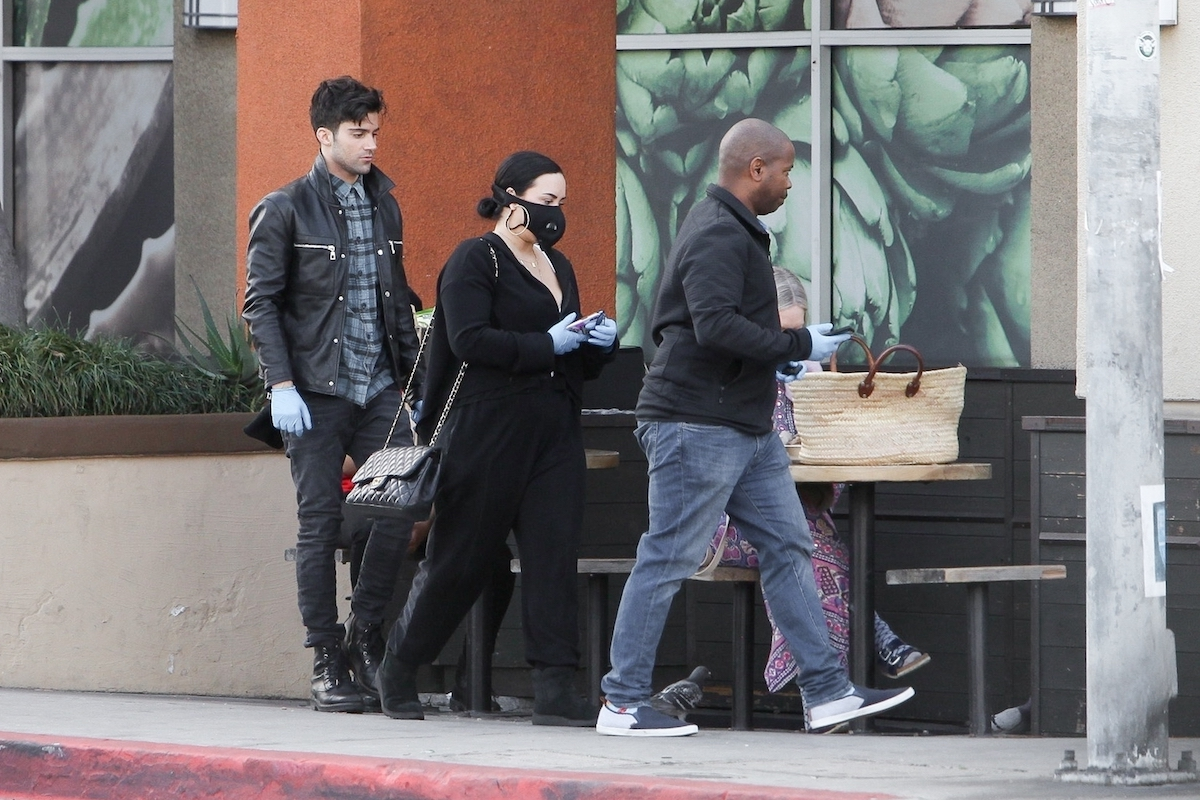 Demi Lovato z chłopakiem
