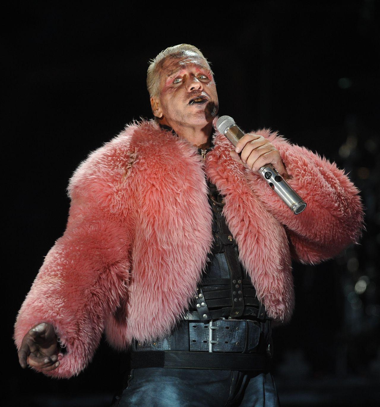 Till Lindemann, wokalista zespołu Rammstein