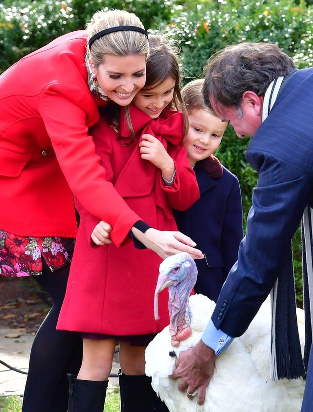 Ivanka Trump z rodziną