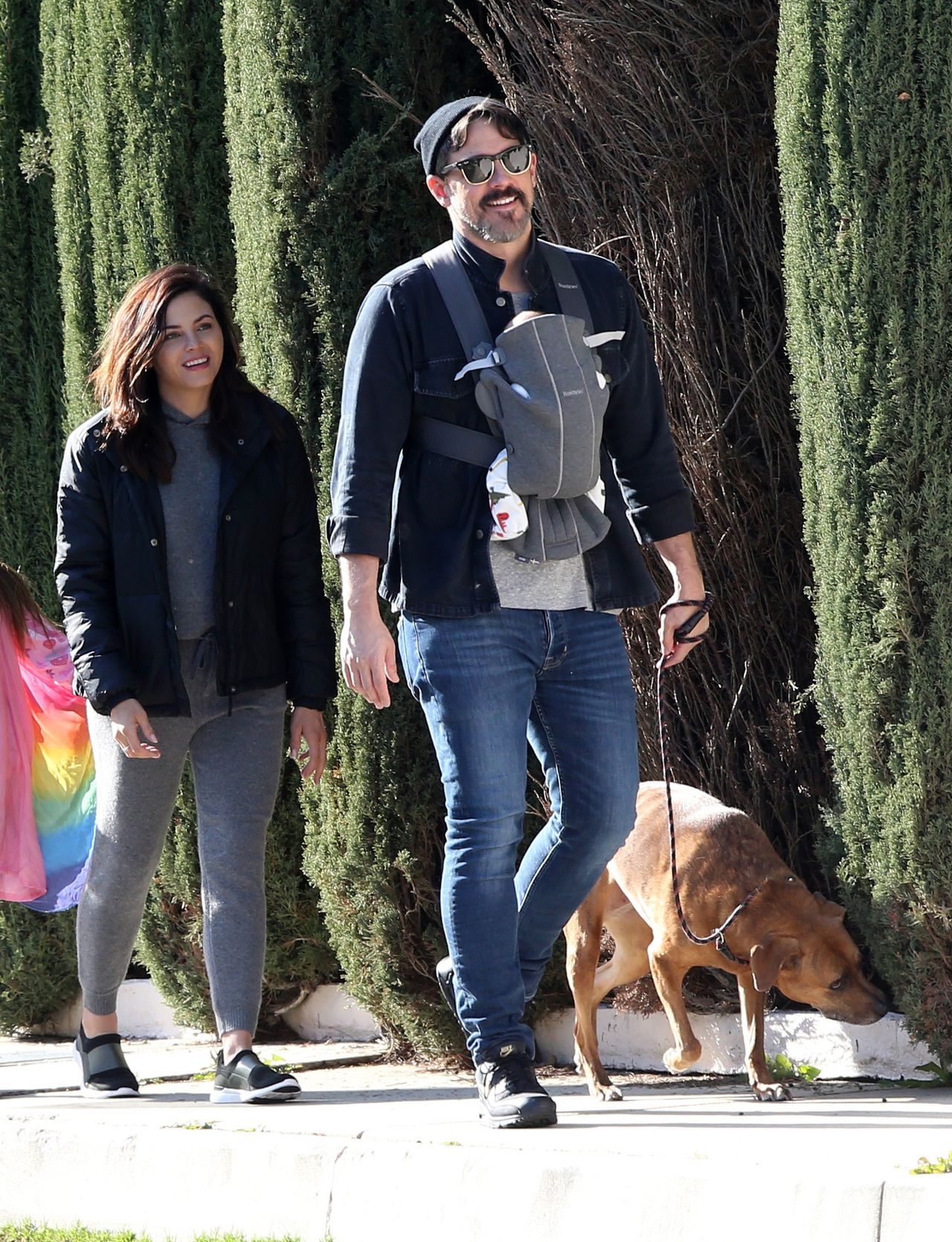 Jenna Dewan na spacerze