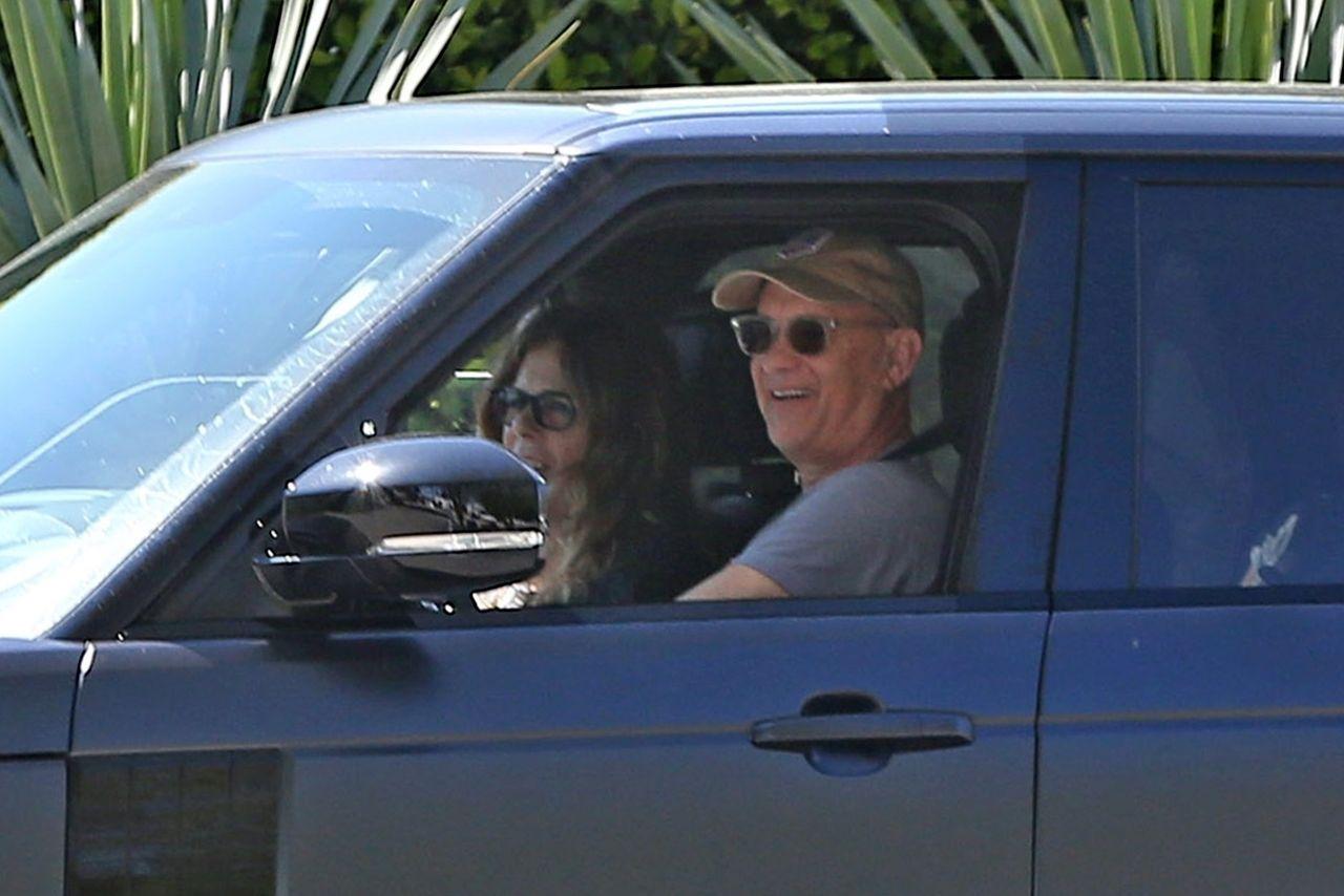 Tom Hanks i Rita Wilson wrócili z Australii do Los Angeles