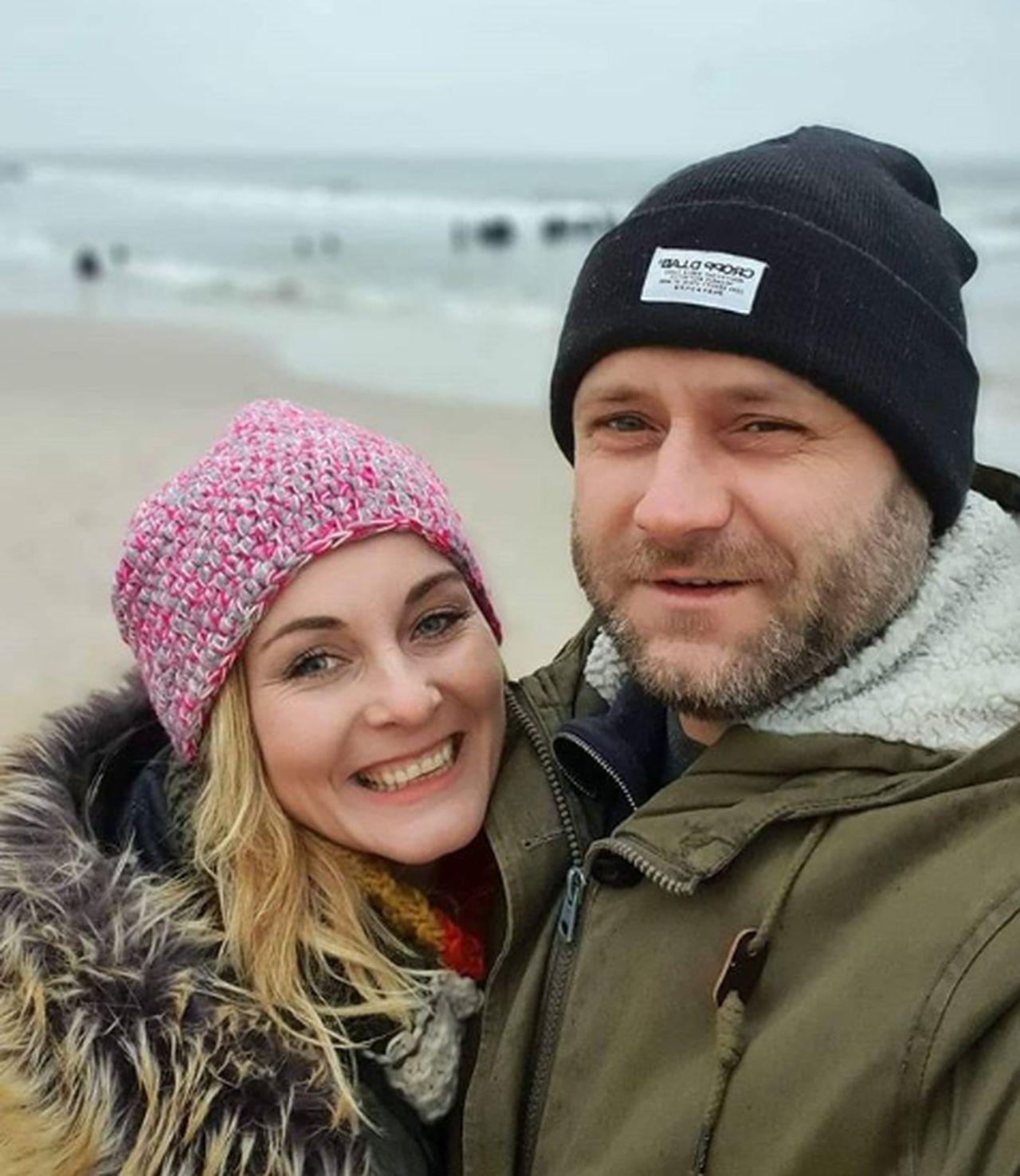 Leszek Lichota i Ilona Wrońska uczą dzieci w domu