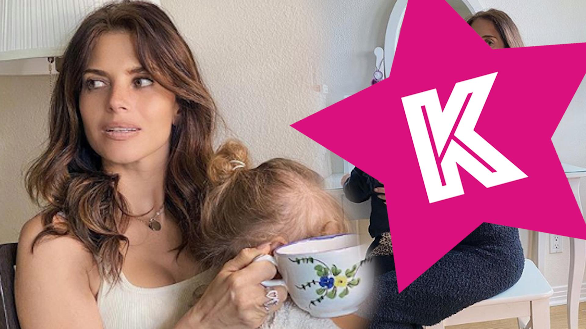 """Weronika Rosati zdradza, jak sama daje sobie radę z 2-letnią córką podczas kwarantanny: """"Ela ma non stop wideo konferencje"""""""
