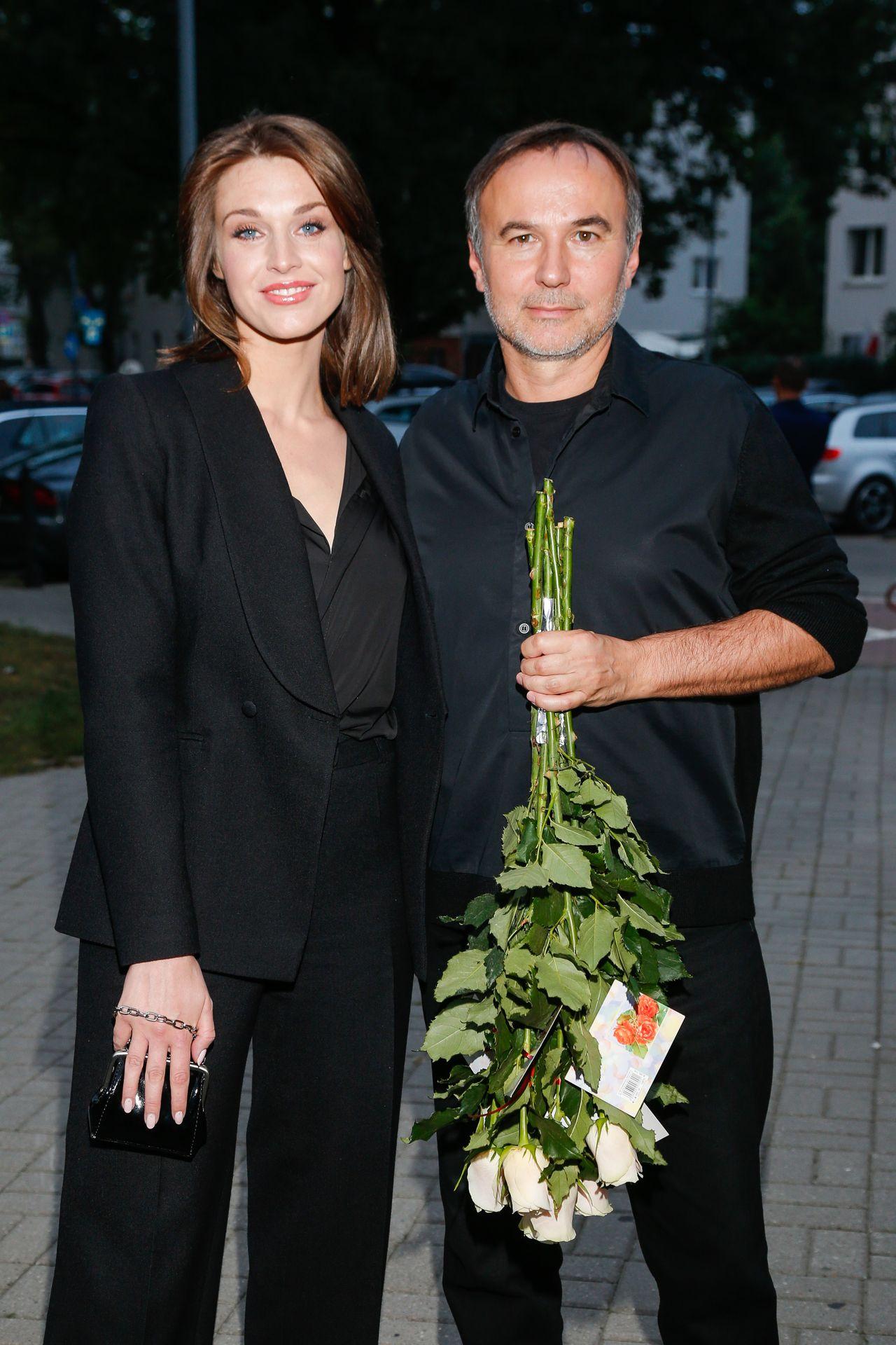 Julia Kamińska i Piotr Jasek na ściance