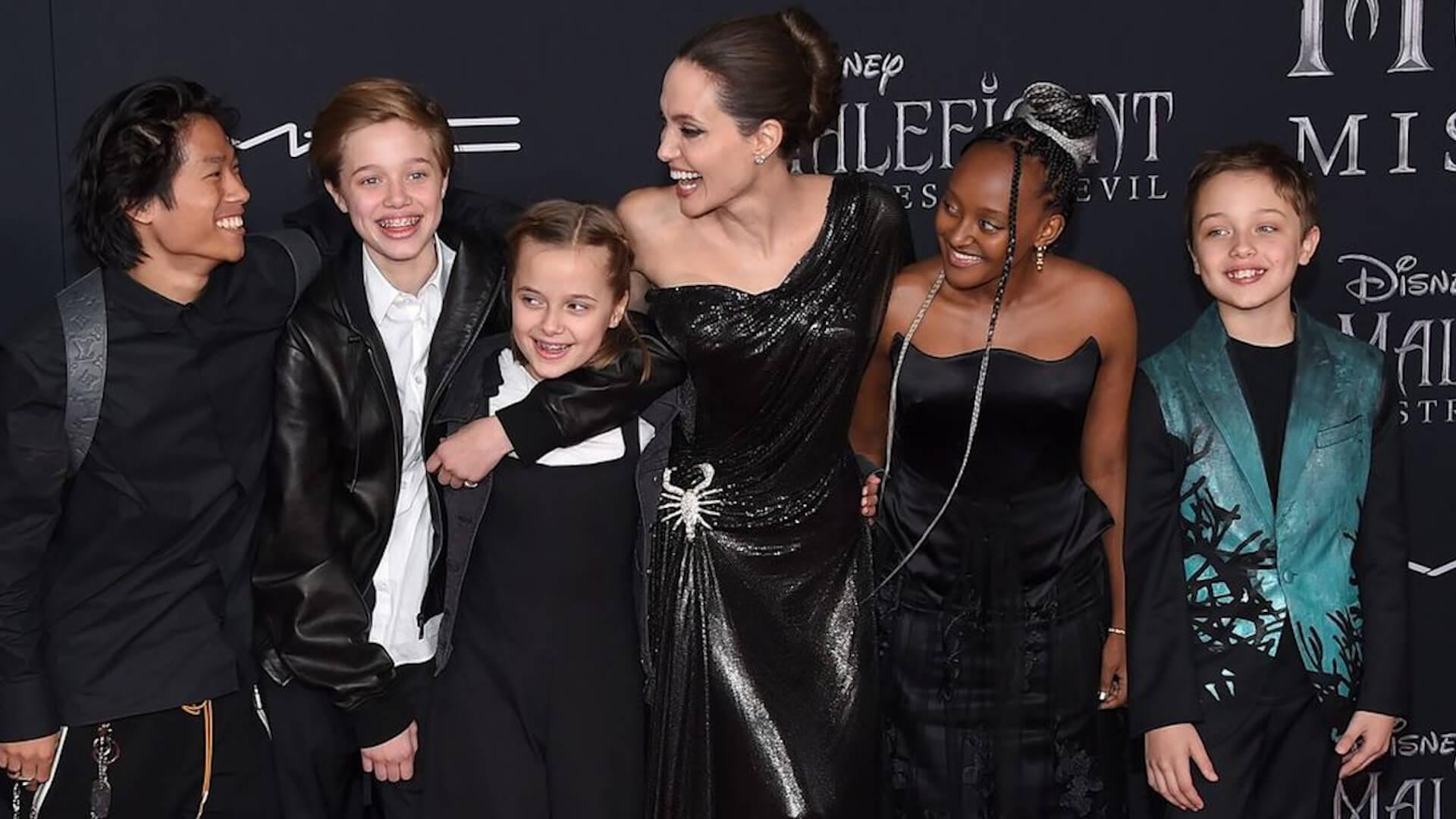 Oto, co dzieci Angeliny Jolie robią podczas kwarantanny