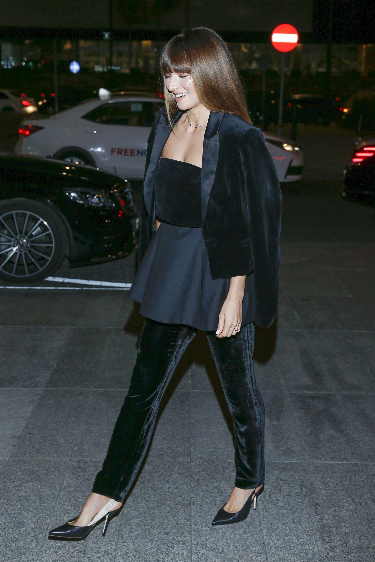 Anna Lewandowska idzie na kolację