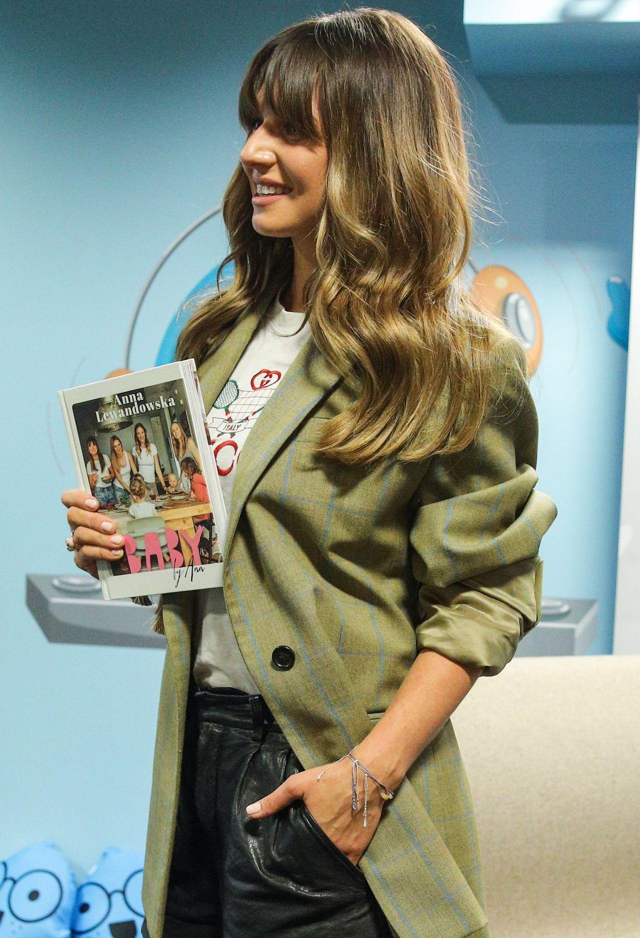 Anna Lewandowska promuje swoją książkę Baby by Ann