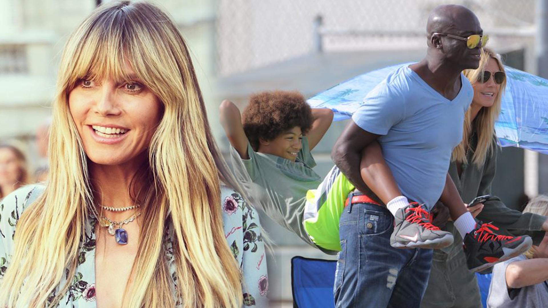 Heidi Klum nie dogaduje się z Sealem w kwestii wychowywania dzieci