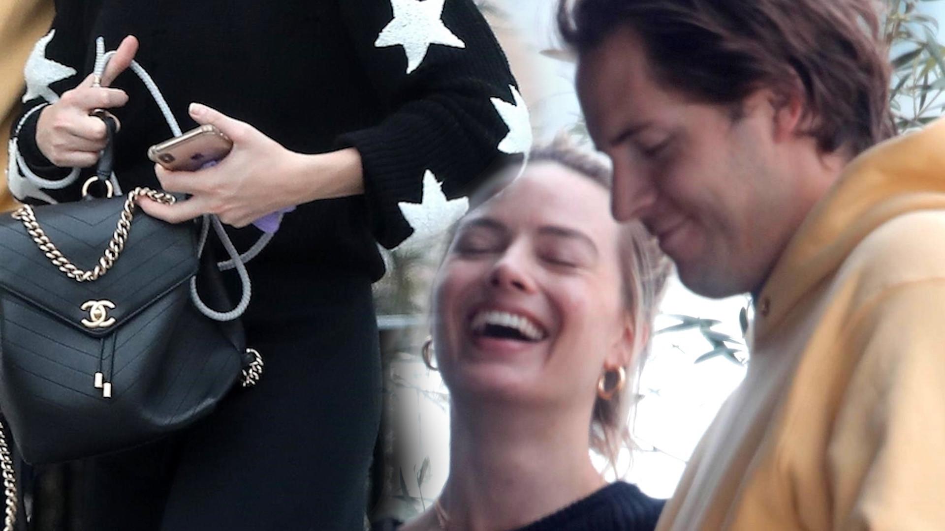 Robbie Margot na zakupach z mężem. Zakochasz się w jej stylizacji