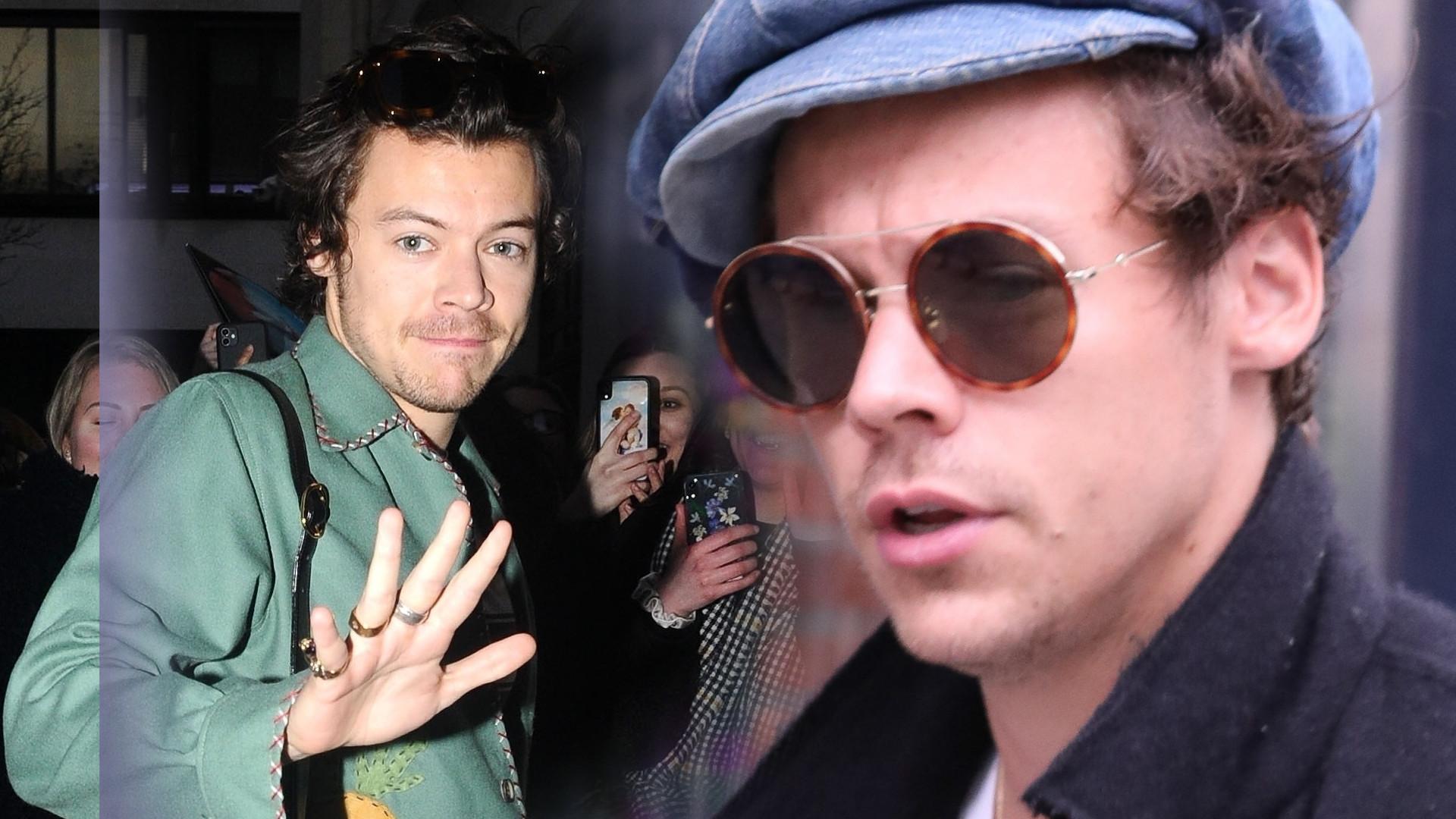 Harry Styles nie wrócił do domu – utknął w Kalifornii