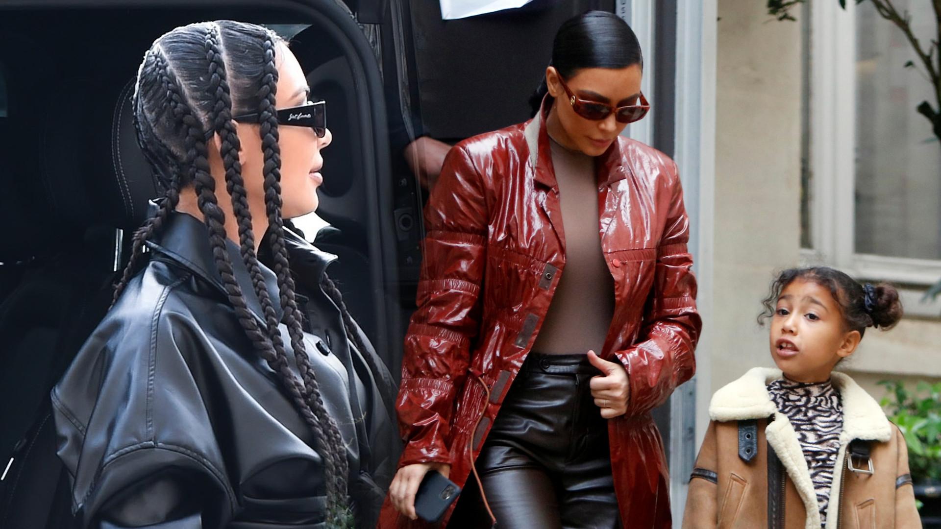 Kim Kardashian dziękuje Bogu za przerwę świąteczną w szkole po tym, jak uczyła dzieci w domu
