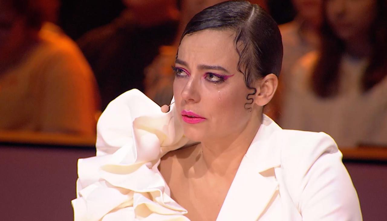 """Anna Mucha zalana łzami po wzruszającym występie w """"Dance dance Dance"""""""