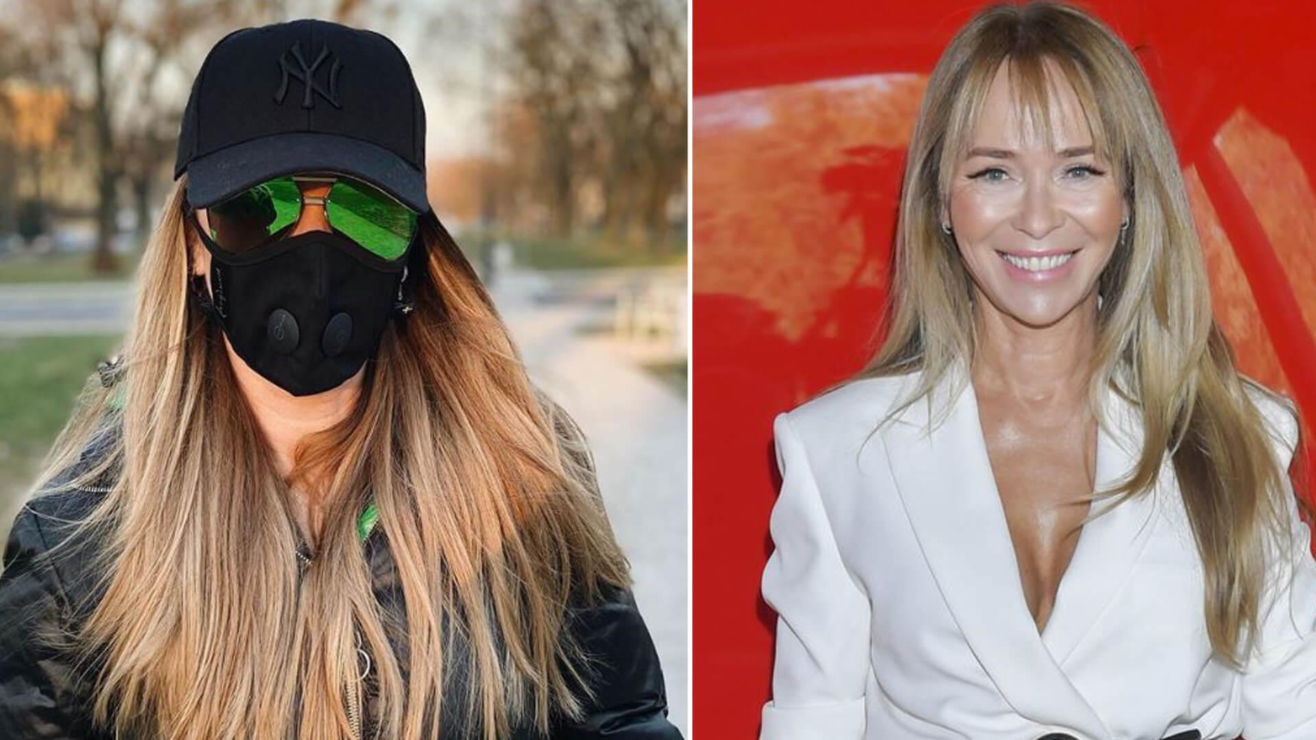 Joanna Przetakiewicz zachęca do noszenia maseczek na twarzy, w komentarzach zażarta dyskusja