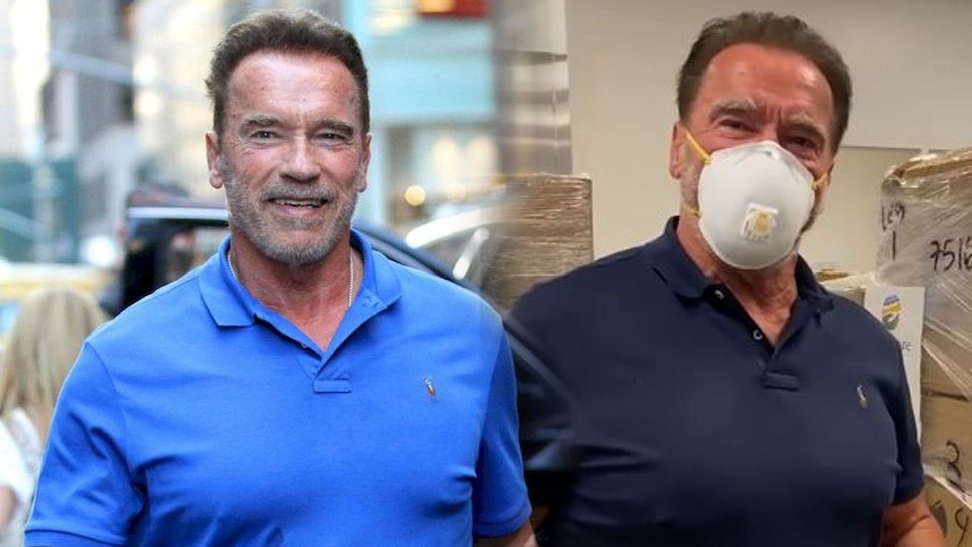 Arnold Schwarzenegger WSPIERA lekarzy. Podarował milion dolarów na służbę zdrowia i 50 tys. maseczek