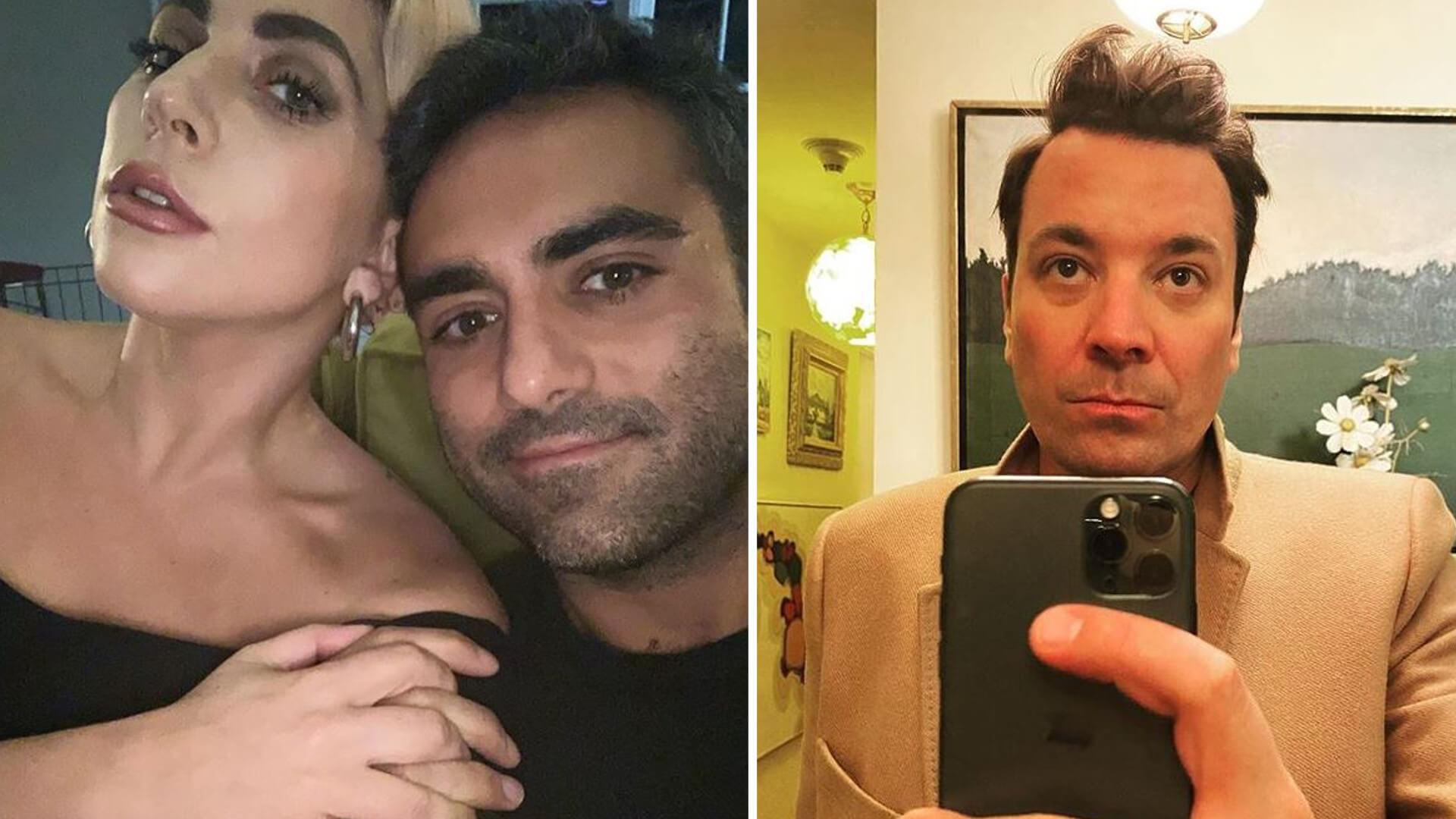 """Lady Gaga niezręcznie przerwała wywiad z Jimmy'm Fallonem: """"Nie mogę teraz rozmawiać"""""""