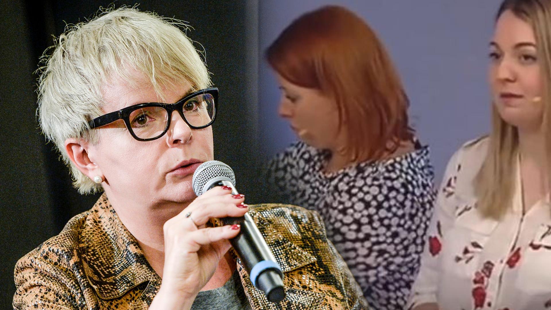 """Karolina Korwin-Piotrowska o KULISACH nagrywania """"Szkoły z TVP"""": One musiały to zrobić"""