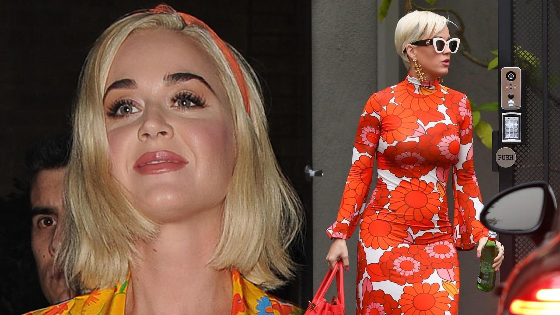 Katy Perry w uroczy sposób potwierdziła płeć dziecka. Orlando Bloom ze szczęścia wysmarował się tortem?