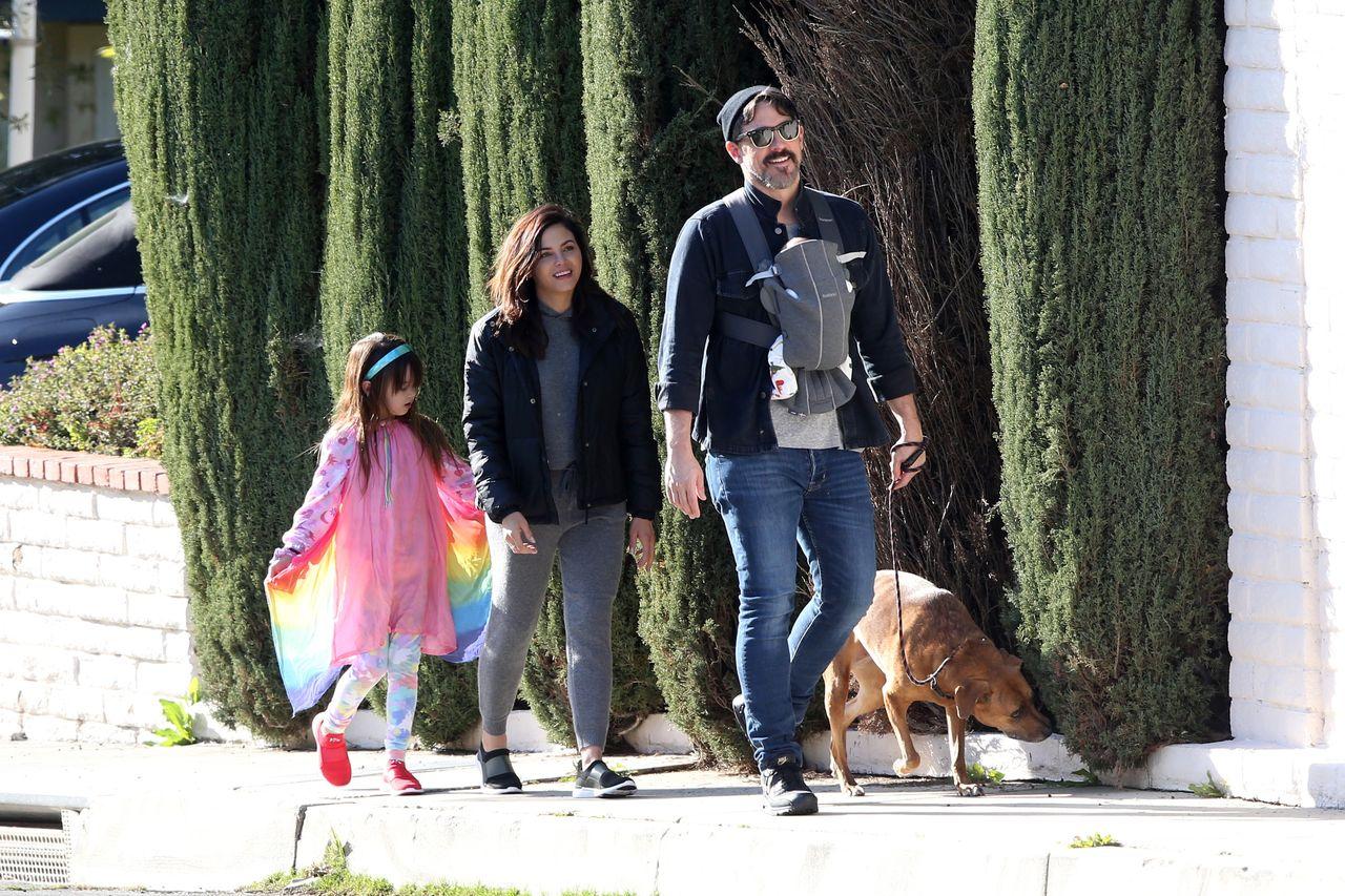 Jenna Dewan z narzeczonym i dziećmi