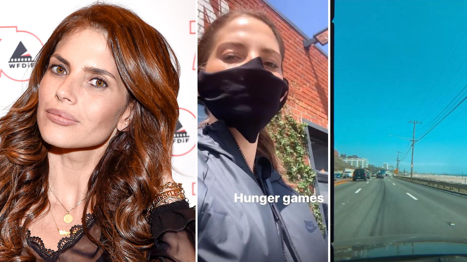 Weronika Rosati robi zakupy na kwarantannie w Kalifornii: Igrzyska śmierci – pisze aktorka