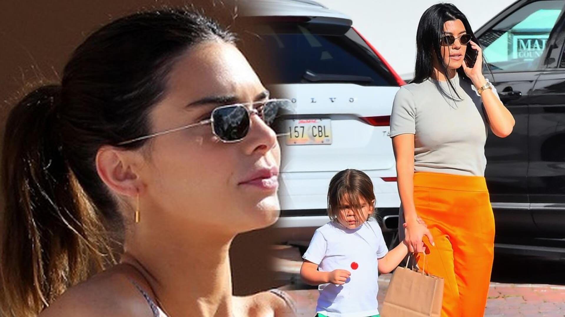 Kendall Jenner OSKARŻA Scotta o mieszanie w głowie Kourtney Kardashian