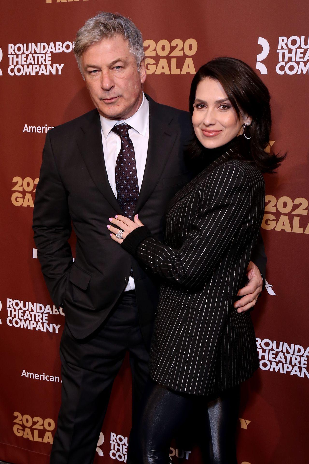 Alec Baldwin z żoną, Hilarią Baldwin