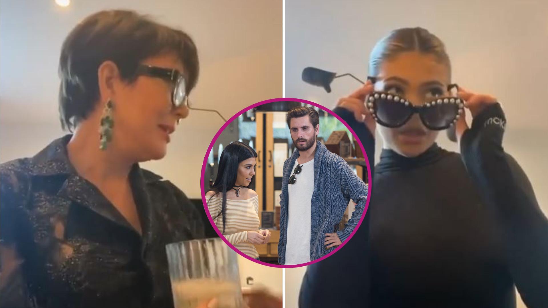 Kylie i Kris Jenner odtworzyły SŁYNNĄ kłótnię Kourtney Kardashian i Scotta Disicka