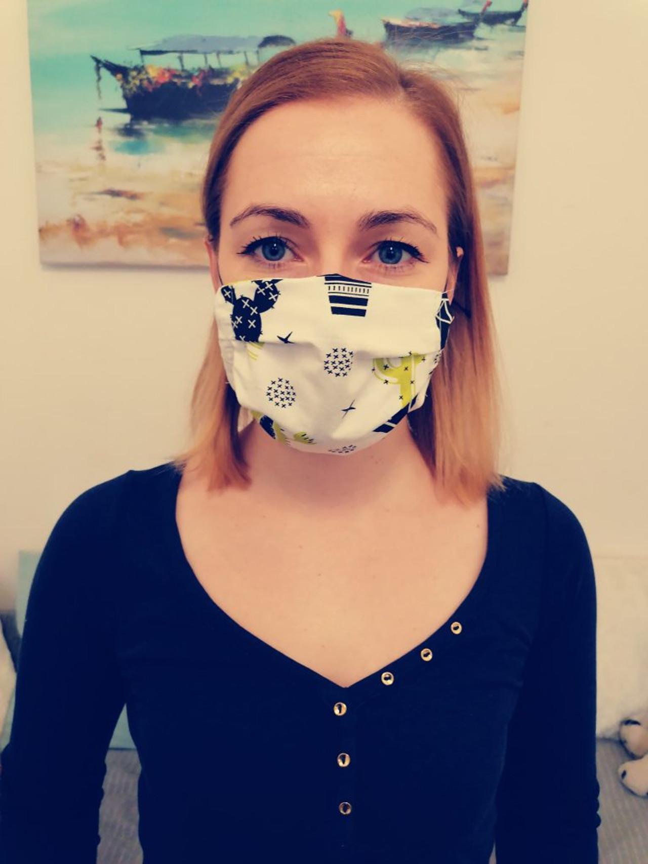 Polscy celebryci w maseczkach na twarzy, niektórzy stawiają na te zrobione własnoręcznie.